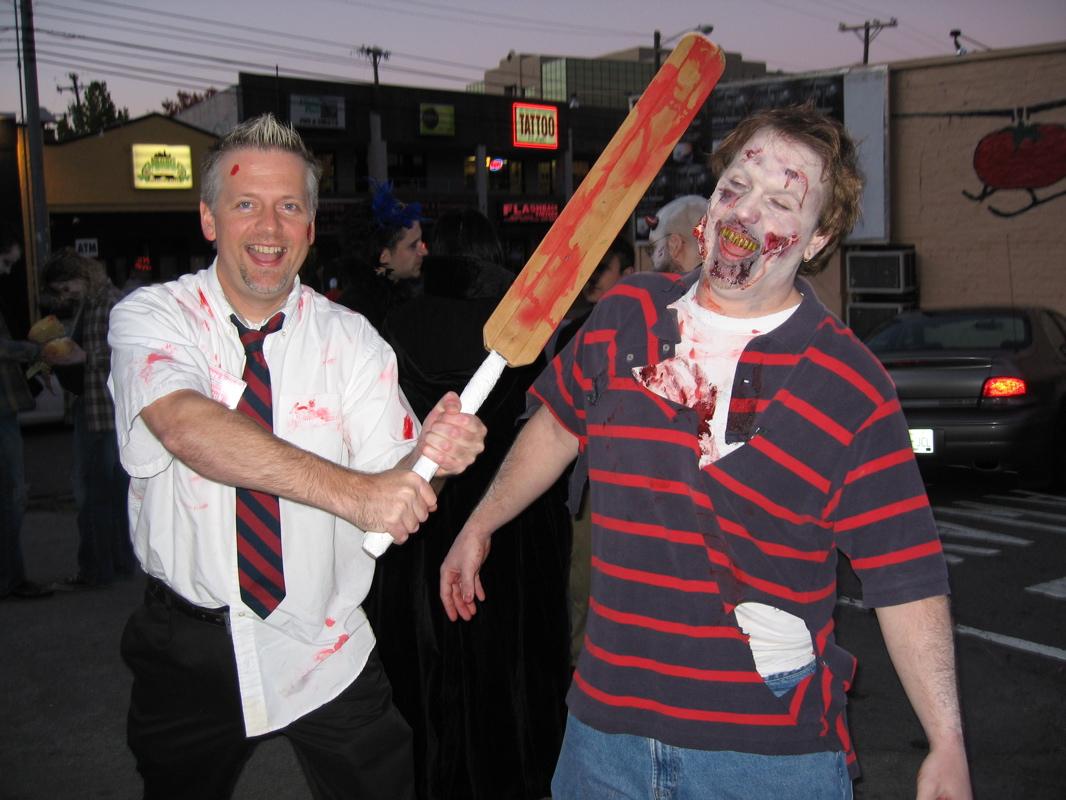 shaun of the dead tie help