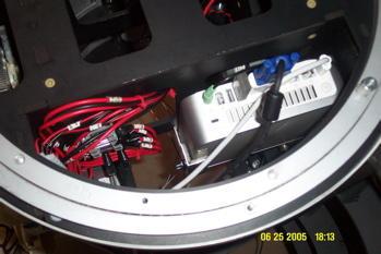 Mac Mini im Roboter