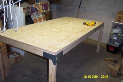 How To Build 4 X 8 Work Table Plans Plans Woodworking Cold